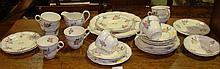 Grindley Devonshire Rose decorative tea set