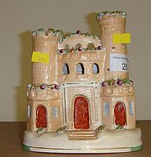 Staffordshire flatback Castle