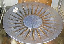 Lalique Ceres pattern dish