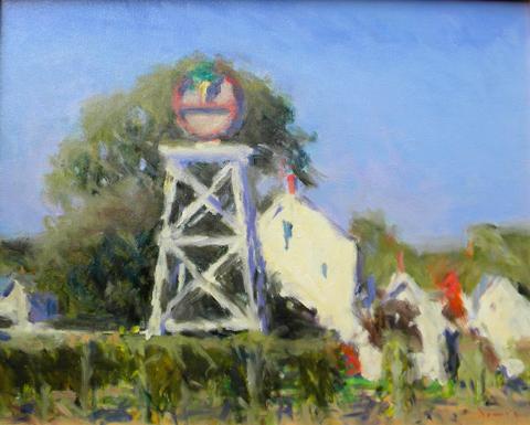 Michael E. Davis  (born 1945)  Truro Vineyard, oil on canvas
