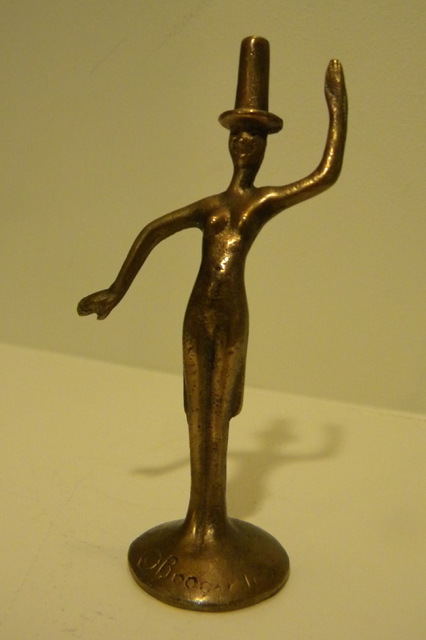 William F. Boogar, Jr.  (1893-1958)  Whimsical Figure, bronze sculpture