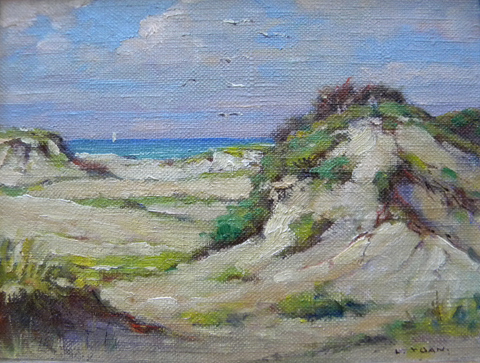 Laszlo  de Nagy (YGAN)  (1906-1944), Dunescape, oil on board