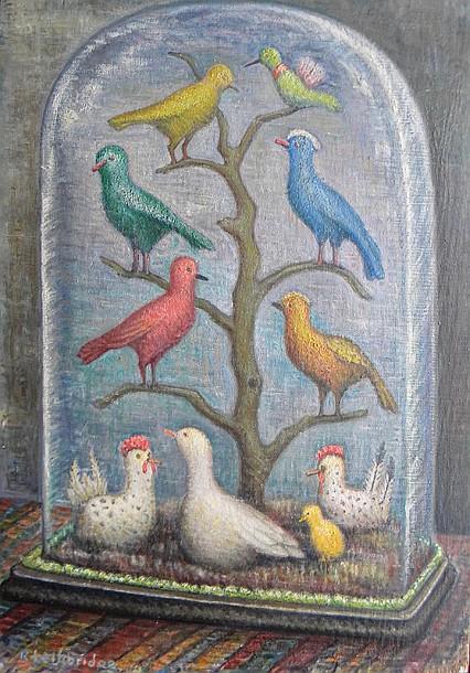 R. (Rodney)  Lethbridge  (1891-?), oil on wood
