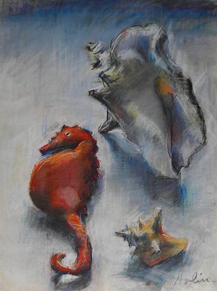 Ray  Nolin  (contemp), pastel on paper