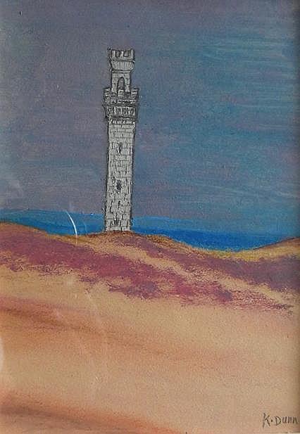 Kathleen  Dunn, (born 1960)  , pastel/pencil on paper