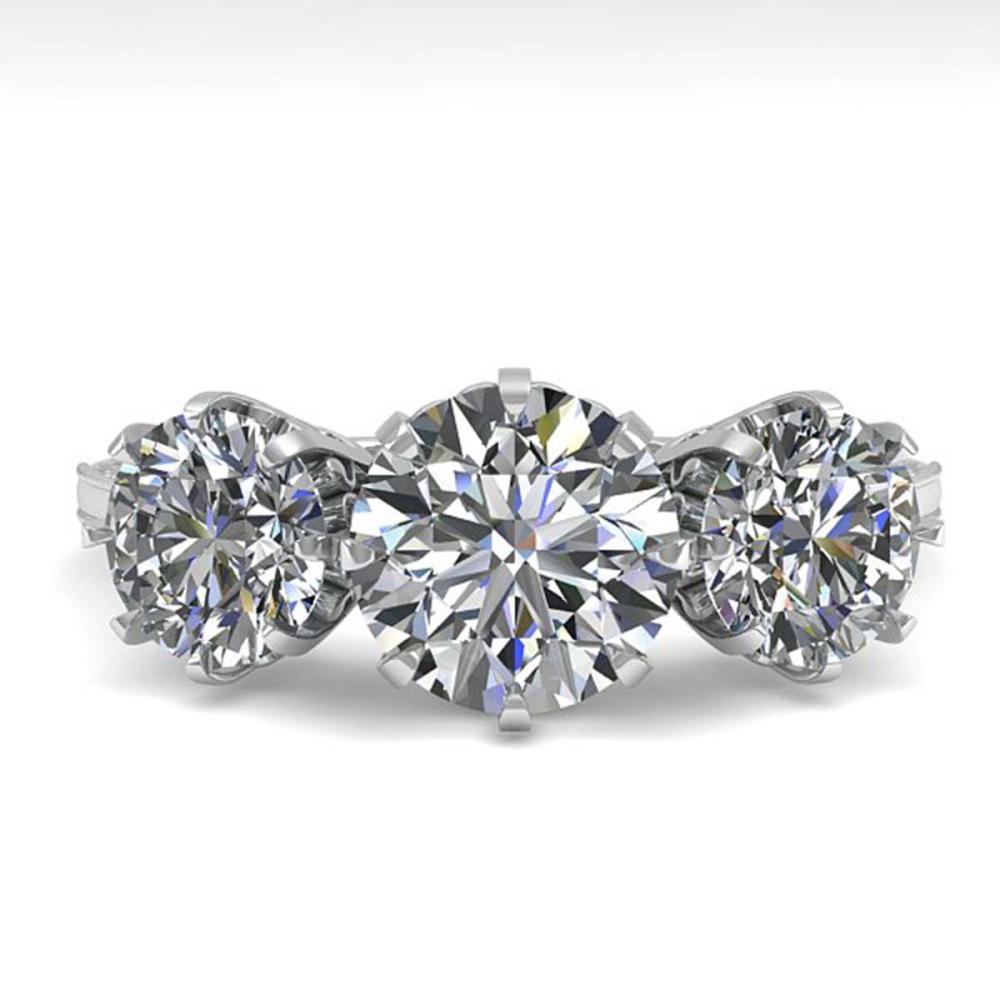 2 ctw VS/SI Diamond Vintage Ring 14K White Gold - REF-395Y7X - SKU:29616