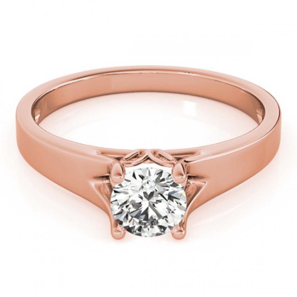 1.50 ctw VS/SI Diamond Ring 14K Rose Gold - REF-478R9K - SKU:25644