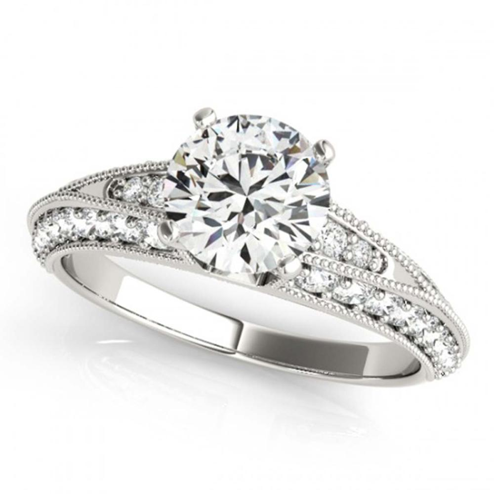 1.33 ctw VS/SI Diamond Ring 14K White Gold - REF-146M3F - SKU:25106