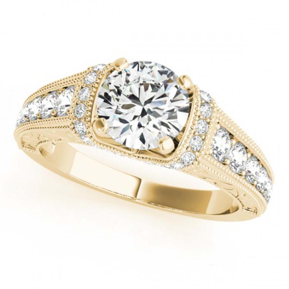 1.50 ctw VS/SI Diamond Ring 14K Yellow Gold - REF-282X5R - SKU:25252