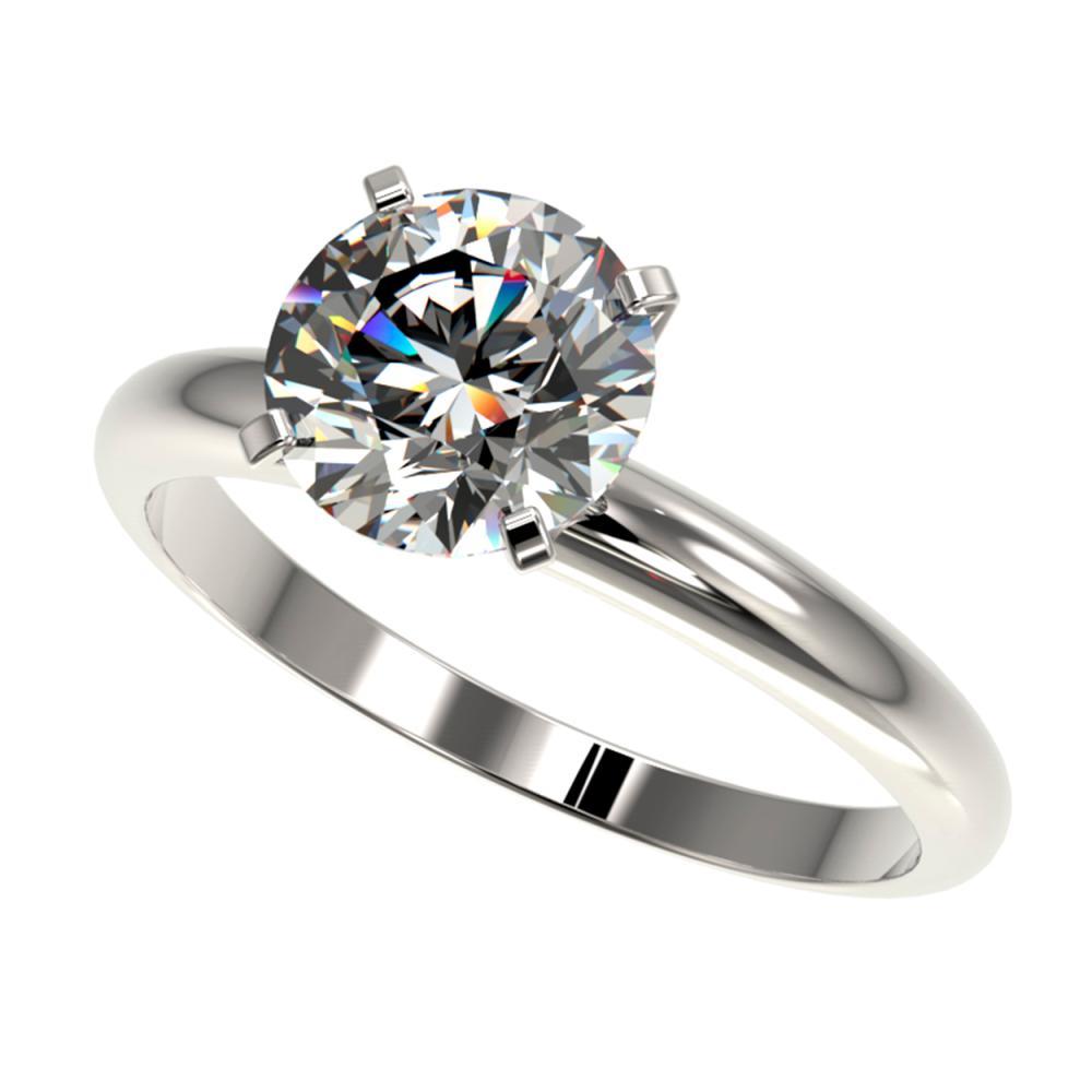 2.03 ctw H-SI/I Diamond Ring 10K White Gold - REF-615R2K - SKU:36449