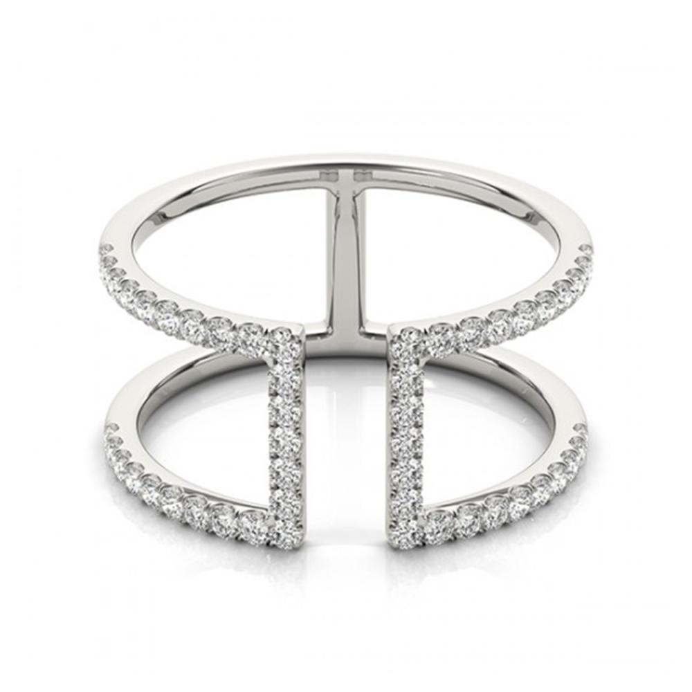 0.65 ctw VS/SI Diamond Fashion Ring 14K White Gold - REF-49F8N - SKU:26146