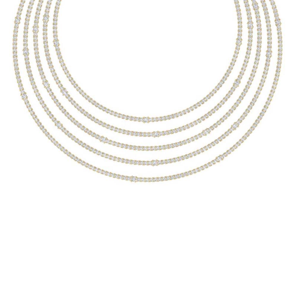 60 ctw VS/SI Diamond Necklace 18K Yellow Gold - REF-3780H2M - SKU:39991