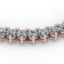25 CTW Solitaire VS/SI Diamond Necklace 14K Gold - 35630-REF-1731F8X