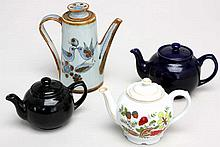 Four Collector Tea Pots - Getting Thirsty?