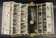 Plano Fishing Tackle Box Filled with Lures