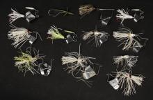 12 Assorted Buzz Bait Fishing Lures