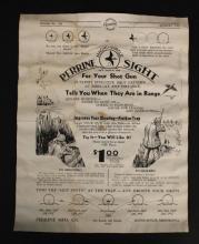 RARE 1941 Magic Circle Perrine Sight Flyer