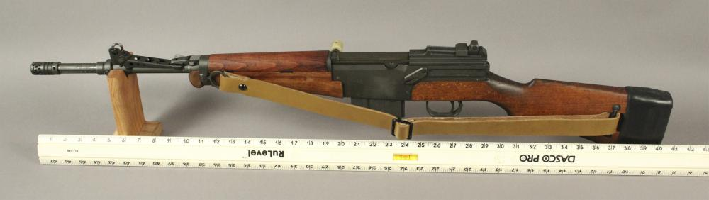 French MAS - 49 Rifle Cal  7 5 with Bayonet