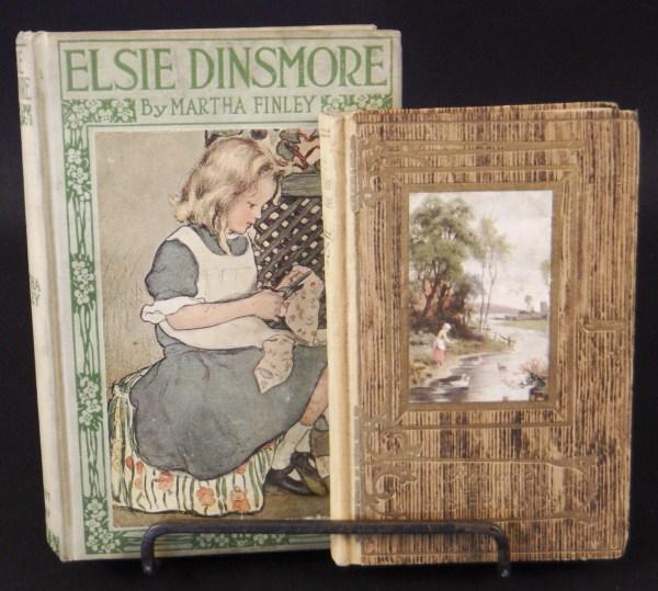 2 Antique Books - Elsie Dinsmore