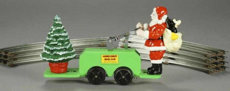 Pride Lines HC-7 Santa Hand Car with Track - Green