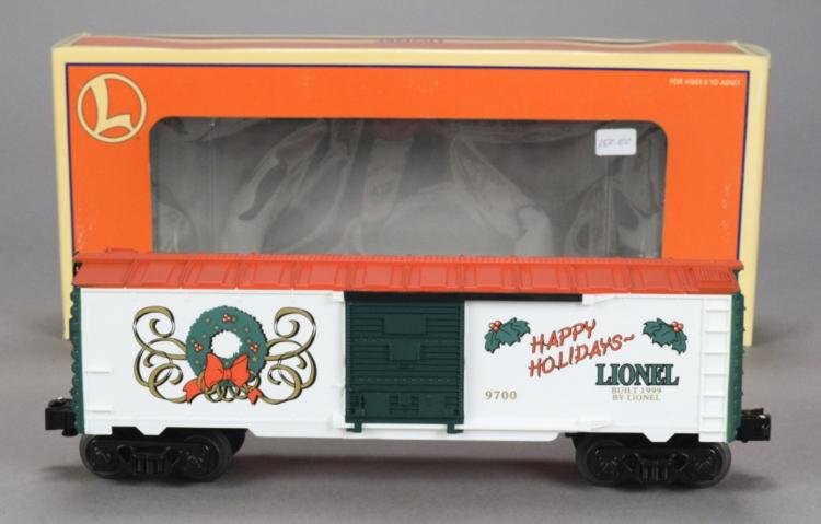 Lionel 6-19976 Employee Christmas 1999 Boxcar