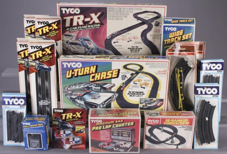 TYCO Slot Car Sets & Accessory Road Race Sets