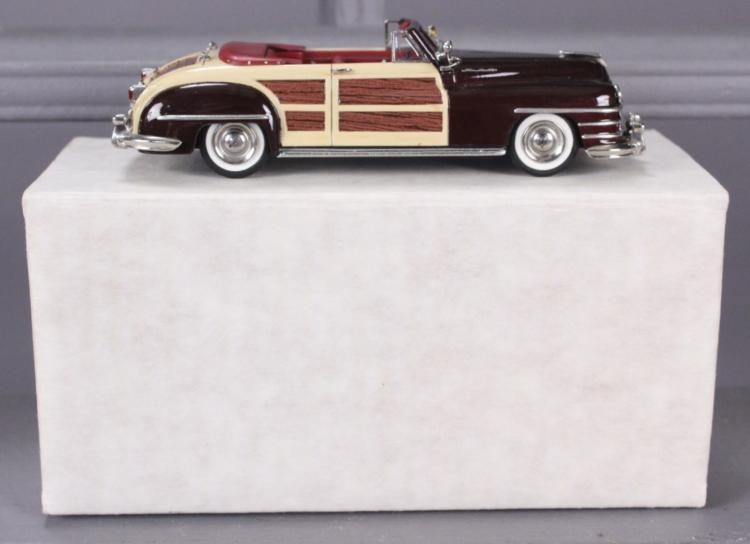 Motor City 1948 Chrysler Town & Country with Box