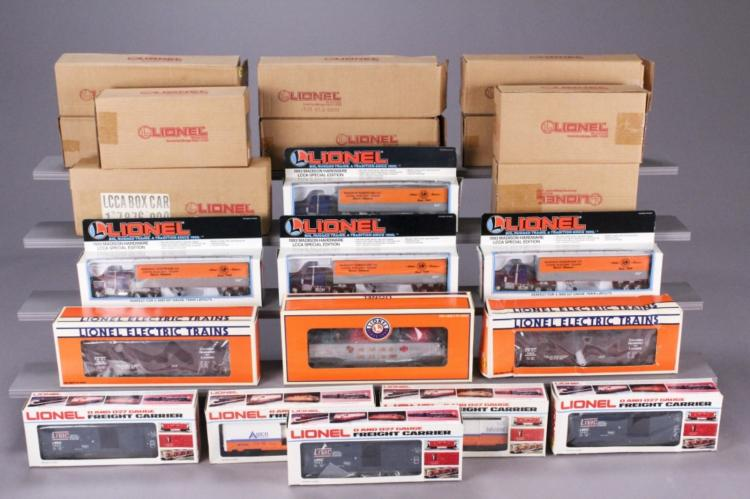 22 Lionel Assorted Collectible LCCA Models