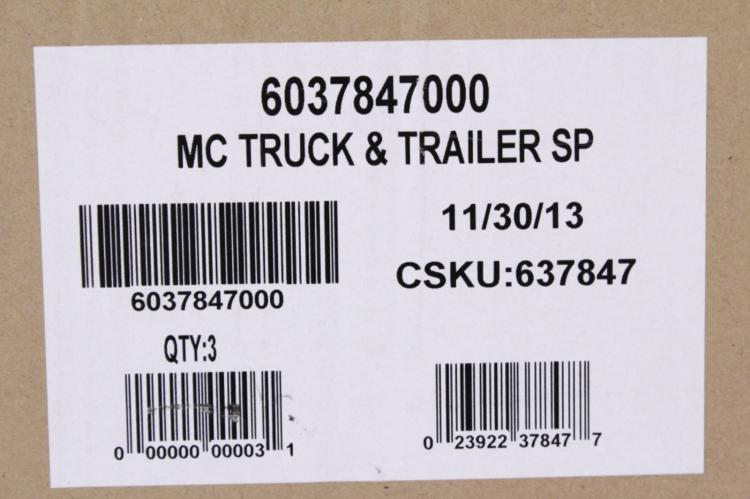 2 Lionel 6-37847 Southern Pacific Tractor Trailers
