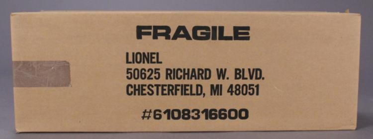Lionel 6-1083166 Wood & Acrylic Display for GG-1