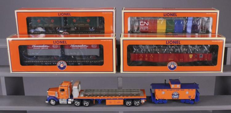 5 Lionel Collectible Train Cars & Vehicles
