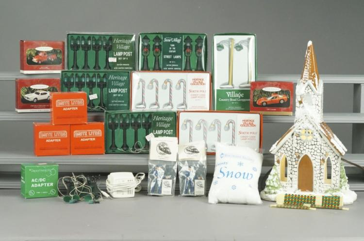 Dept. 56 & Heritage Village Holiday Accessories