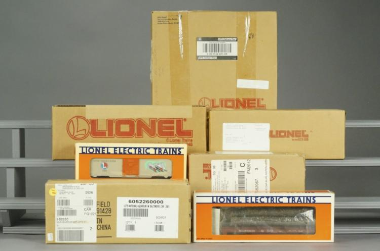 7 Lionel Assorted Collectible Cars in Boxes