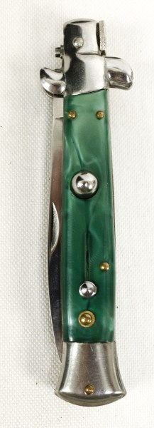 Milano Switchblade Knife with Pouch