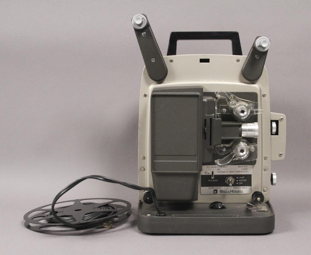 Vintage Bell & Howell Autoload 8mm Film Projector