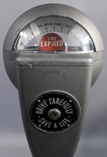 Vintage Hour Meter : Vintage duncan ten hour parking meter