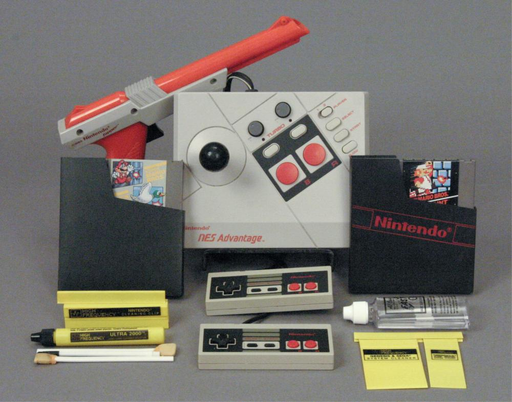 1987 Nintendo NES Advantage Model # NES - 026