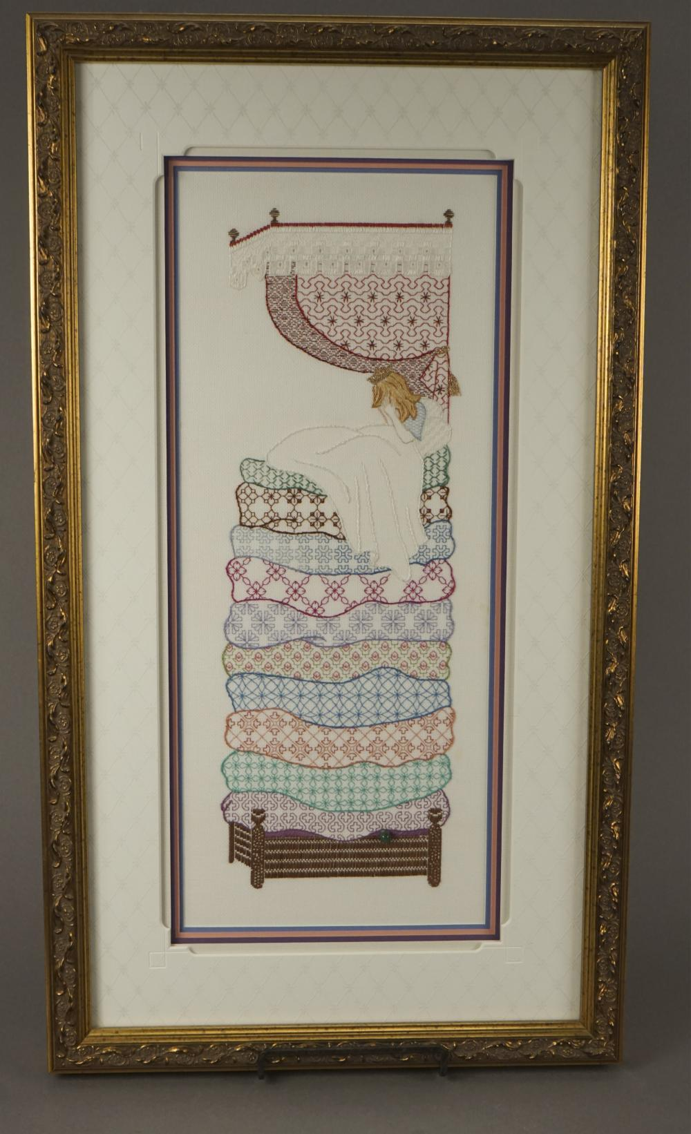 Framed Counted Thread Art by Needle Woman East