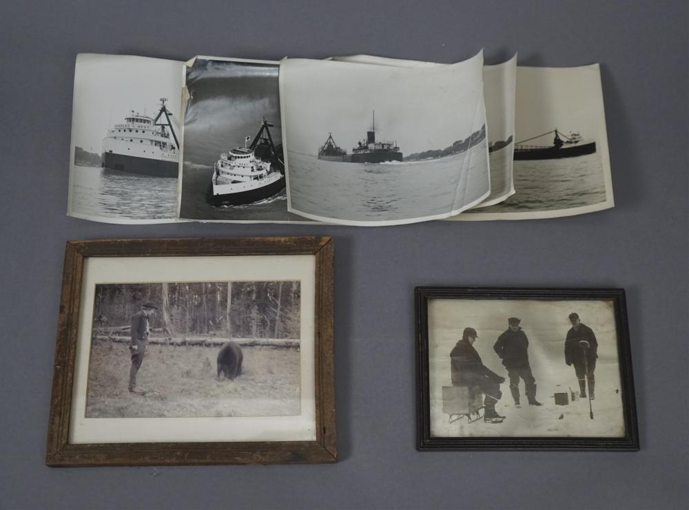6 Vintage Outdoor Photographs - 2 Framed