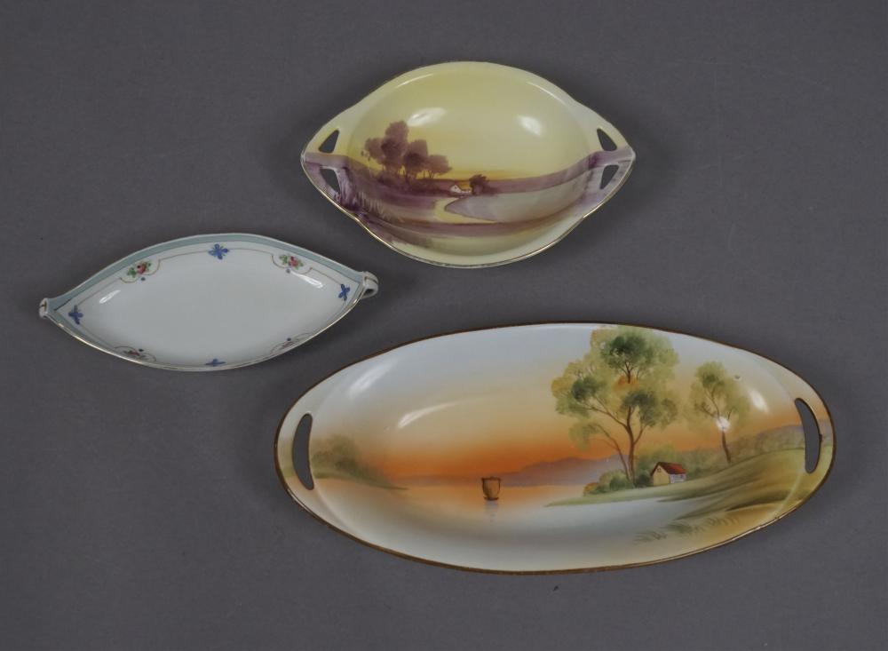 Gorgeous Vintage Hand Painted Nippon Plates