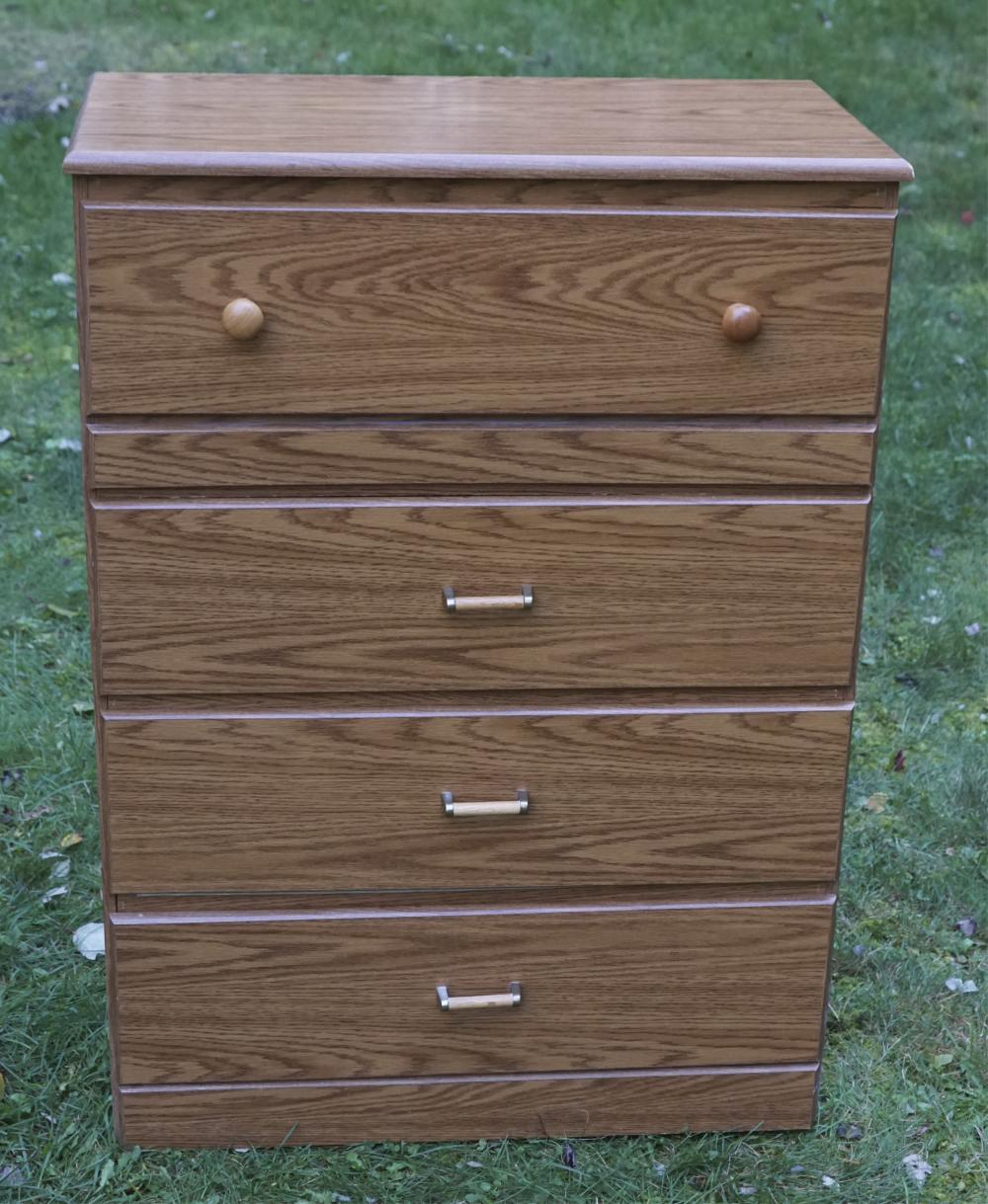4 Drawer Wooden Dresser