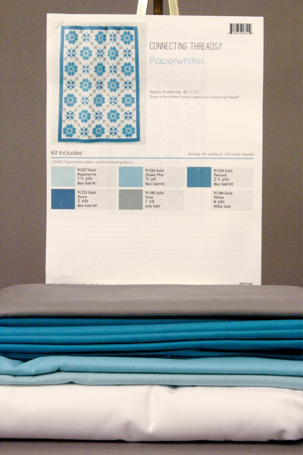 Cora's Quilts Pattern - Instructions - Material