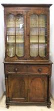 George III Hepplewhite Style Secretary Cabinet