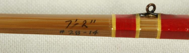 Custom Hand Made Michigan Au Sable River Fly Rod