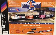 Lionel Trains 6-11982 Limited Edition Rare NJ Train Set GP-38 Diesel Locomotive