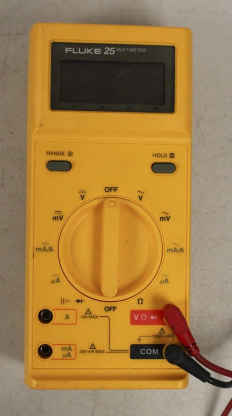 Fluke 25 Handheld Multimeter Tool