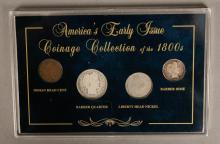 Americas Early Issue Coinage Collection - 1800's