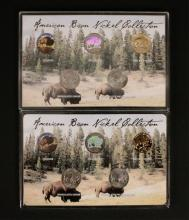 2 - 5 Coin American Bison Nickel Collections