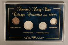 Americas Early Issue Coinage Collection - 1800s