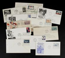 31 First Day of Issue Stamped Envelopes